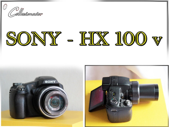 Câmera Sony - Hx100v 1080p | Perfeita... Leia A Descrição