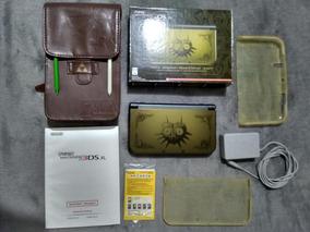 New 3ds Xl Edicao Majoras Mask, Completo, Case Zelda, 16gb