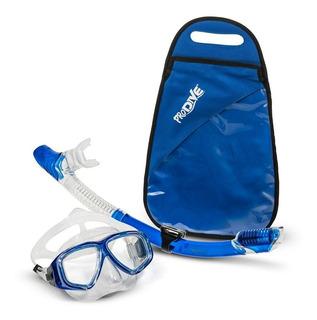 Snorkel Tubo + Máscara Resistente
