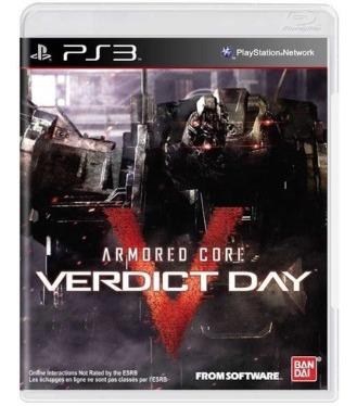 Jogo Armored Core: Verdict Day - Ps3 Midia Fisica Lacrado
