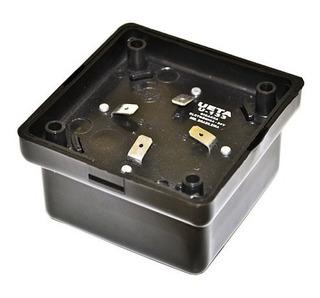 Cigarra Eletrônica Piezoelétrica Ueta U130 12v Kit 10 Pçs