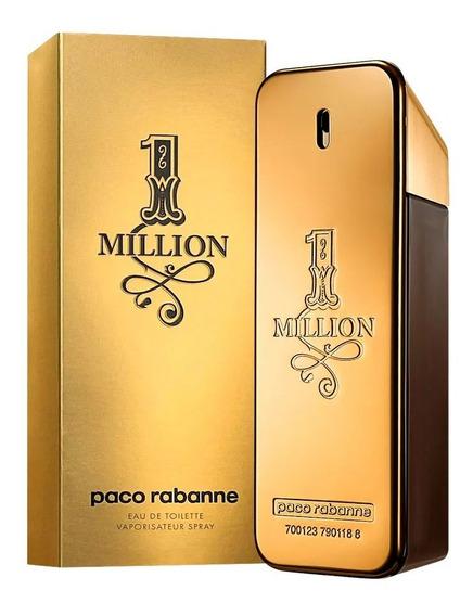 Paco Rabanne One Million De 100ml Original Selo Adipec