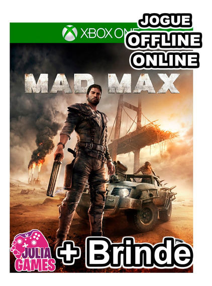 Mad Max Xbox One Midia Digital + 1 Jogo De Brinde