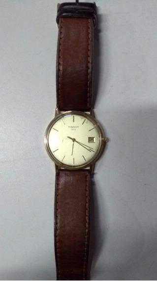 Relógio Tissot Goldrun Ouro 18k, Máquina Eta Suíça.