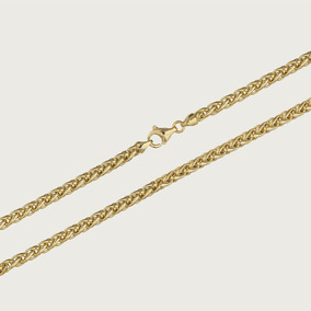 Cordão Feminino Em Ouro 18k (750) - 45cm