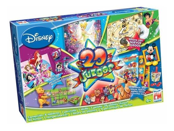Juego De Mesa 20 En 1 Disney Fotorama