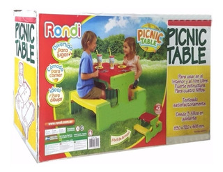 Mesa De Picnic Rondi Picnic Table Art. 3125