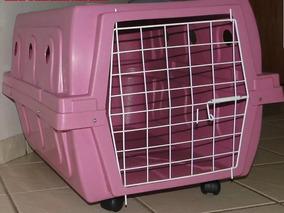 Caixa De Transporte/cama Para Cachorro/gato/etc - Avião - N3