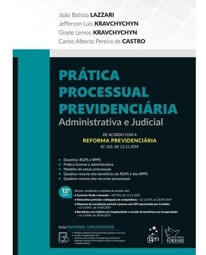 Combo Lazzari - Prática Previdenciaria+manual Previdenciario