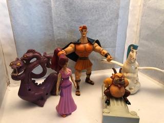 Coleccion De Muñecos De Hercules!! Impecables!!