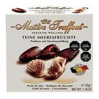 Bombones Frutos Del Mar Maitre Truffout 50g / Superstore