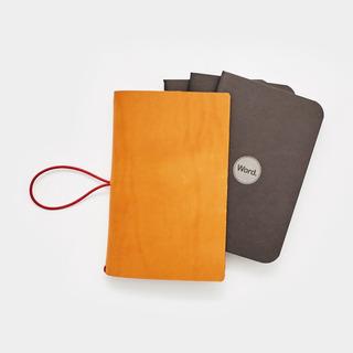 Funda De Cuero W / -pack Cuadernos / Revistas. Tamaño ...