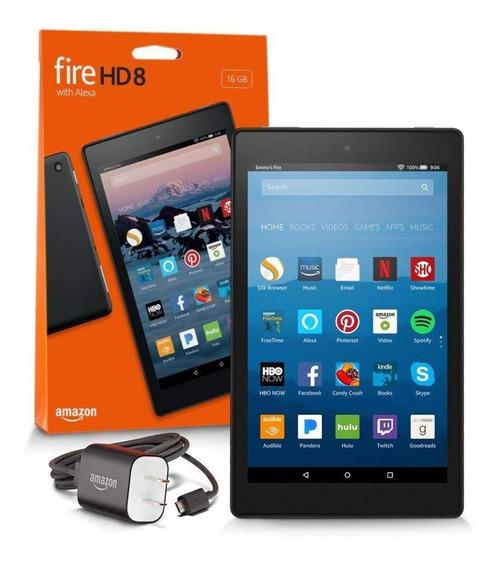 Tablet Amazon Fire 7 8gb 7 Wifi Camera Preto Alexa