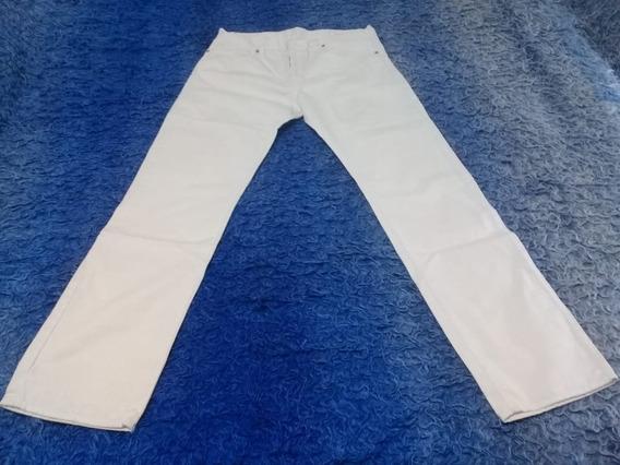 Pantalón Largo - Color Blanco - Bensimon