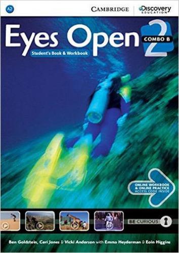 Imagem 1 de 1 de Eyes Open 2b Combo - Student's Book With Online Workbook And