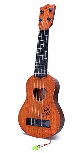 Yezi Ukelele Clasico Para Niños Instrumento Musical Color M