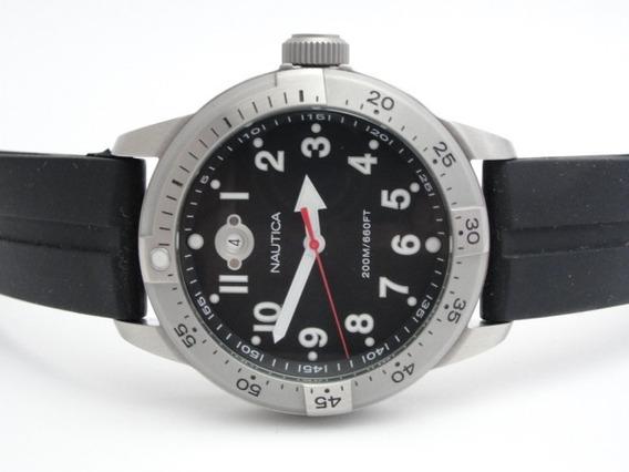 Relógio Náutica Masculino - Wr 200 Mts - Ref: A13014 - Novo