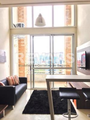 Flat Duplex Alto Padrão Residencial Para Locação, Brooklin, São Paulo. - Fl0003