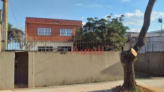 Sobrado Com 3 Dormitórios À Venda, 190 M² Por R$ 799.000 - Parque Jaçatuba - Santo André/sp - So1111