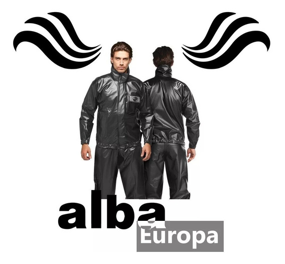 Capa Chuva Alba Europa 100% Impermeável Motoboy Motoqueiro