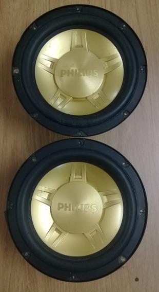 Par Alto Falantes Som/radio Philips Nx-5