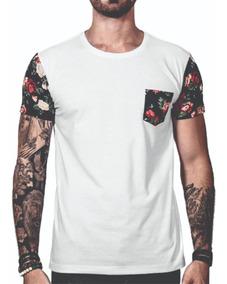 Kit 2 Camiseta Blusa Florida Blusa Floral Masculina Atacado
