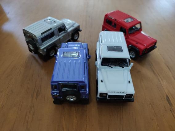 Land Rover Defender A Escala Welly 1/32-1/38