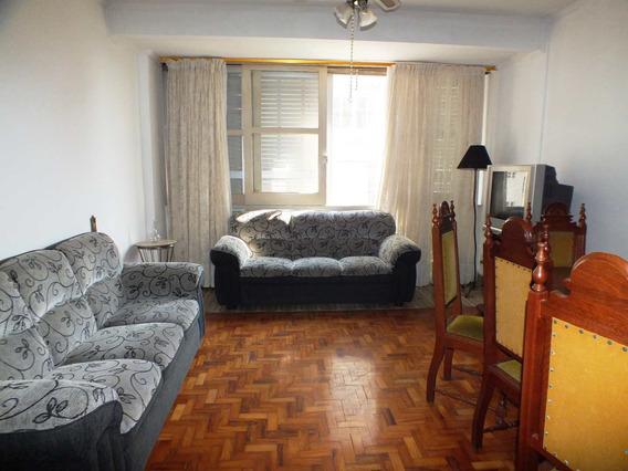 Apartamento Com 2 Dorms, Aparecida, Santos, Cod: 1269 - A1269