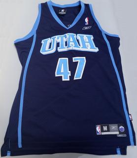Camiseta Utah Jazz 47 Kirilenko 2005 Impecable, Nunca Usada