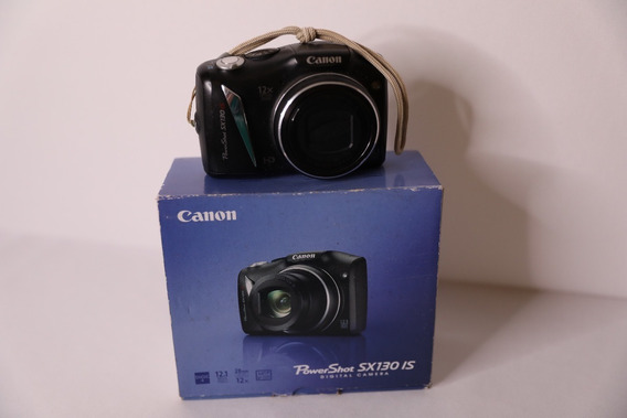Canon Power Shot Sx130 Is + 2gb + Bolsa