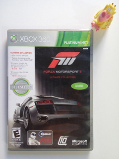 Forza Motorsport 3 Ultimate Collection Xbox 360 Garantizado