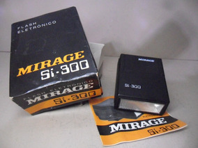Flash Mirage Si 300 Ideal P/ Olympus Pen, Trip * Ok &