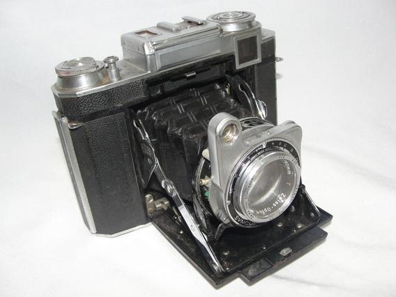 Antiga Camera Fotografica Zeiss Ikon Fole Peça Para Coleção
