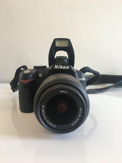 Câmera Nikon D3000 - Semi Profissional