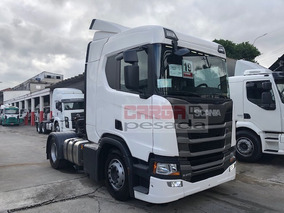 Scania R410 R 410 Teto Alto Aut. 2019 = R450 R500 New Fh460