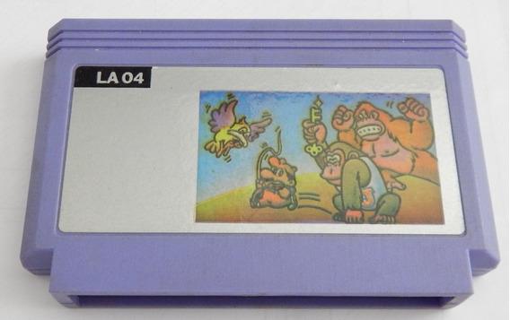 Cartucho Nintendo Rescue Donkey Kong Jr. 60 Pinos Paralelo