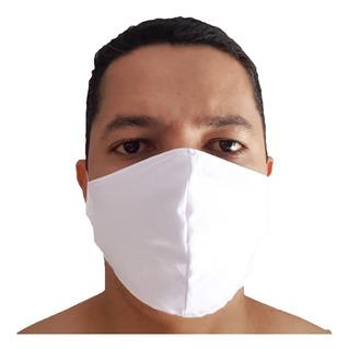 Kit 50 Máscaras Proteção Respiratória Tecido Envio Imediato