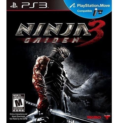 Jogo Ninja Gaiden 3 Ps3 Ps Move Original Novo Lacrado