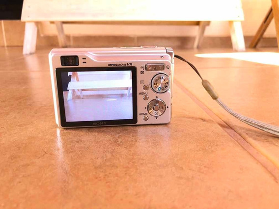 Câmera Digital Cyber-shot Sony 7.2 Mega Pixels