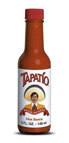 Imagen 1 de 3 de Salsa Picante Tapatio 148 Ml Usa