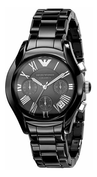 Reloj Emporio Armani Ceramica 1401 Negro