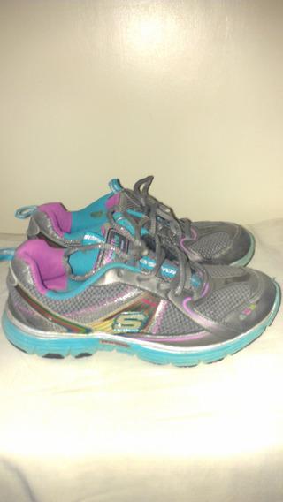 Zapato Skechers De Niña