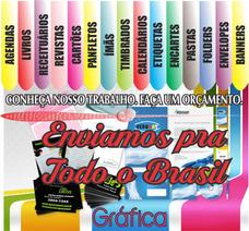 Banners, Folders, Cartão De Visita, Panfletos, Livros Etc