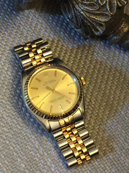 Rolex Oyster Perpetual Acero Oro 34mm Vintage