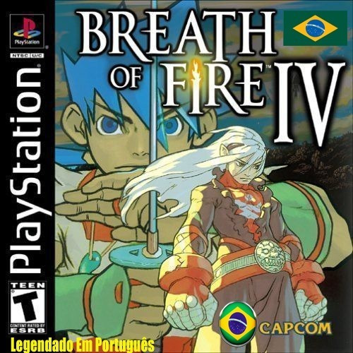 Breath Of Fire 4 Português Legendado - Ps1 - Playstation 1
