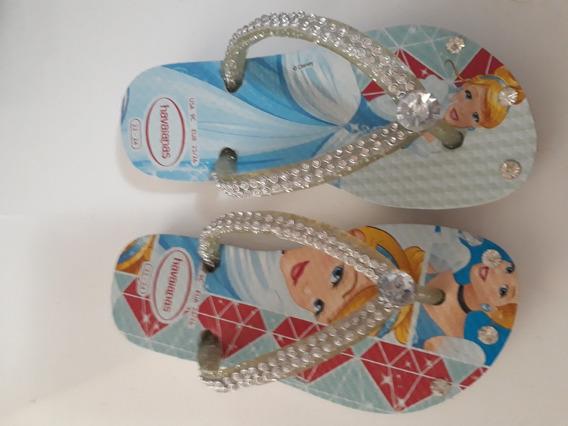 Havaianas Slim Princesas Infantil (cinderela)