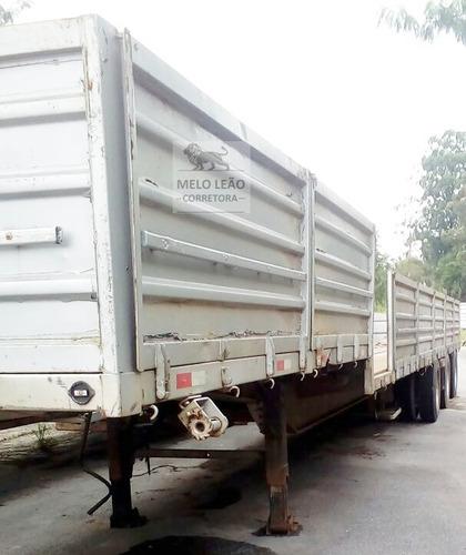 Semi Reboque Soufer, Porta Container, 18,50m X 2,50m. 2013 *