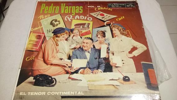 Pedro Vargas Lp De 33 Rpm El Tenor Continental 331
