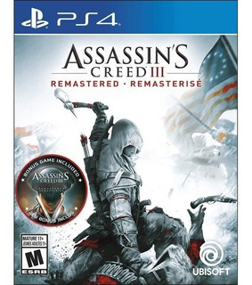 Assassins Creed Iii Remastered Playstation 4