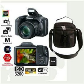 Canon Sx530hs Semi-nova +bolsa+tripe+cartao16gb Nota Fiscal